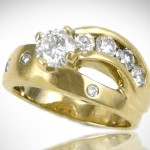 Custom Shooting Star Ring - Morgan's Treasure - Custom Jewelry