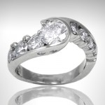 Custom Diamond Engagement Ring - Morgan's Treasure - Custom Jewelry