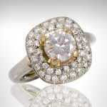 Custom Two-Tone Engagement Ring - Morgan's Treasure - Custom Jewelry