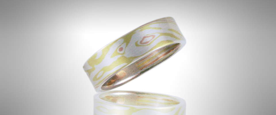 Custom Men's Wedding Band - Morgan's Treasure - Custom Jewelry