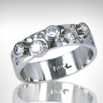 Custom Wedding Band - Morgan's Treasure - Custom Jewelry