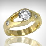 Custom Engagement Ring - Morgan's Treasure - Custom Jewelry