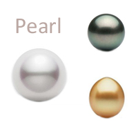 pearl gemstone round, south sea, akoya, tahitian