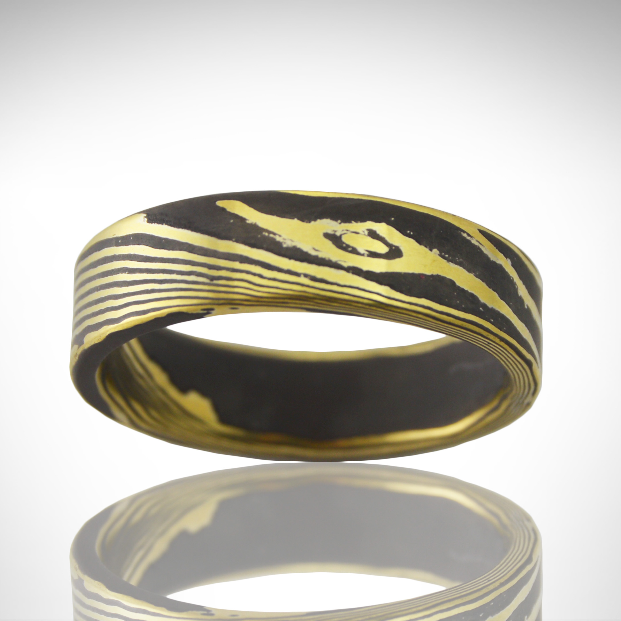 layered and brass double the pin of made nordic ring silver dwarven rings